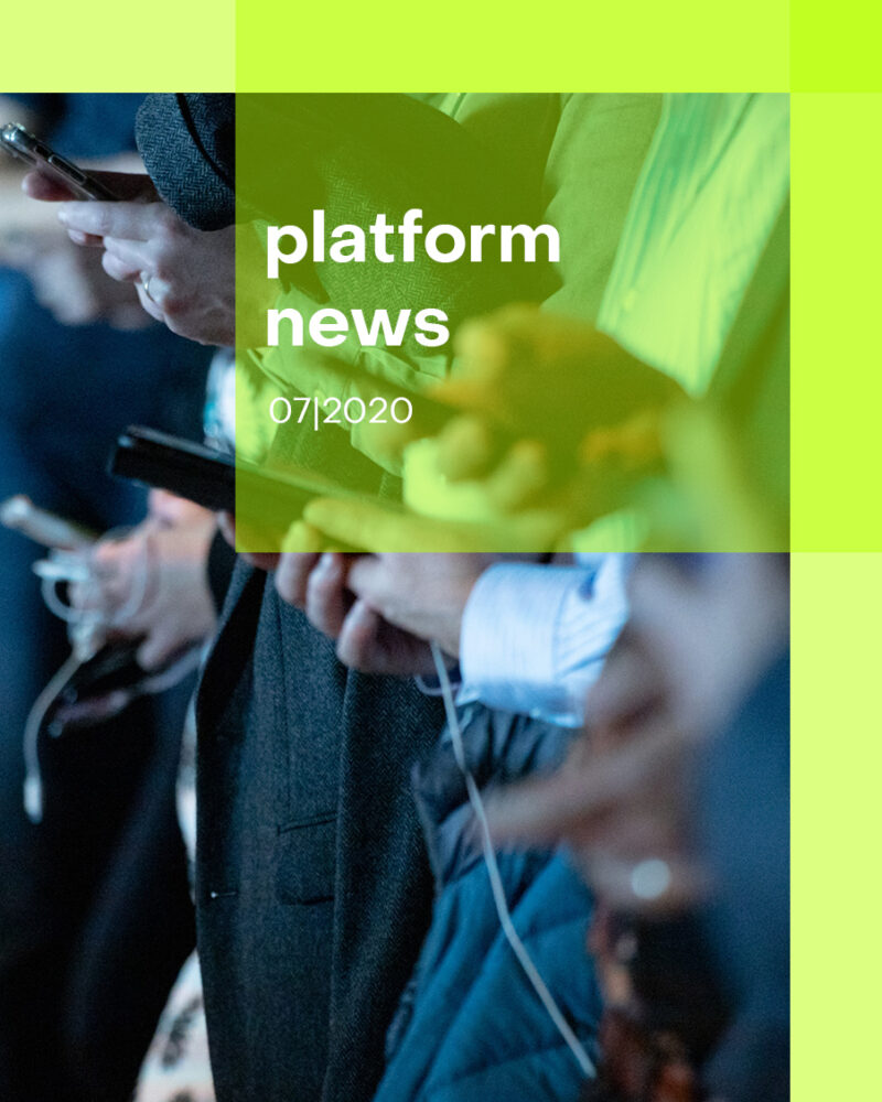 Insights platform news 20 07